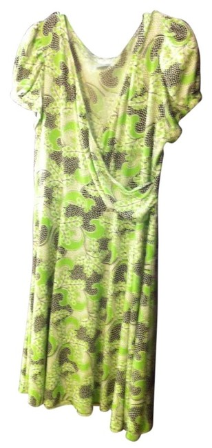 Preload https://item5.tradesy.com/images/london-times-green-brown-and-white-rn-58142-knee-length-workoffice-dress-size-18-xl-plus-0x-165484-0-0.jpg?width=400&height=650
