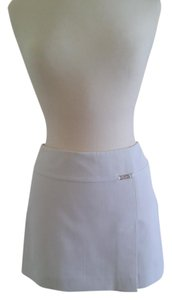 bebe A-line Mini Skirt White