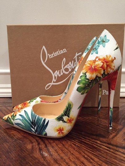 Christian Louboutin Sokate white Pumps