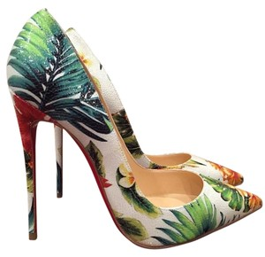 christian louboutin altadama watersnake pumps