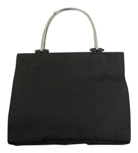 Gucci Tote Bamboo Satchel in Black