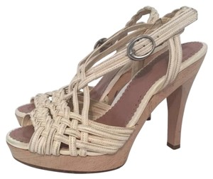 Jill Stuart Cream Platforms