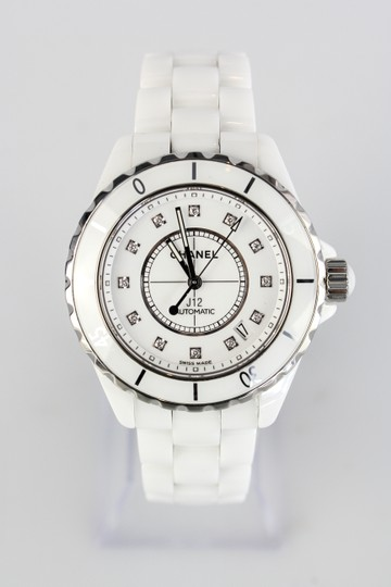 Chanel Chanel J12 Ceramic Diamonds Automatic Watch