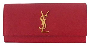 Saint Laurent Red Clutch