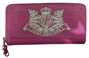 Juicy Couture Continental All Around Zipper Wallet