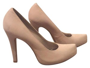Gianni Bini Tan/Nude Platforms