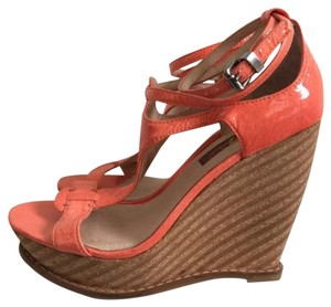7 For All Mankind Coral Wedges