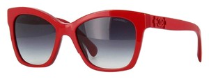 Chanel CHANEL Boy Brick 'Lego' Signature Butterfly Sunglasses CH5313 (Red)