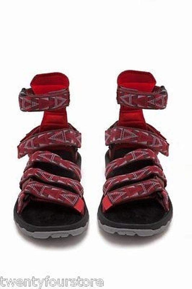 b6a3c70a453 Opening Ceremony X Teva Gladiator Mens Red Sandals Image 2. 123