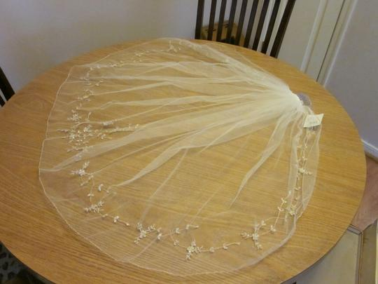 David's Bridal Elbow Length Veil