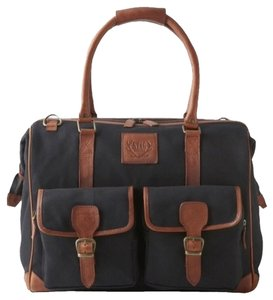 Stag Designs Black & Tan Travel Bag