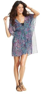 Gottex Price Reduced 10% Until 7/20..Butterfly-Sleeve Printed Cover-Up