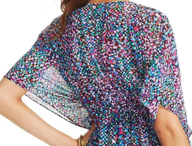 Gottex 'Prolific' Butterfly-Sleeve Printed Cover-Up
