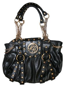 Paris Hilton Brass Chain Shoulder Bag