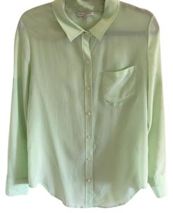 Broadway & Broome Button Down Shirt Green