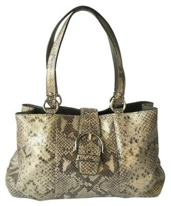 Coach Tote in Python print