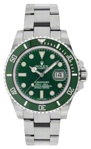 Rolex Rolex Submariner Steel Green Dial 40mm