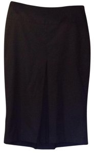 Zara Date Night Work Office Skirt Dark Grey