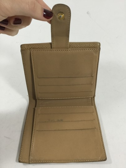 Chanel Chanel Tan Leather Wallter