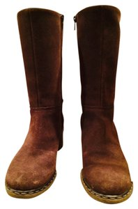 Dockers Rough Leather Suede Brown Boots