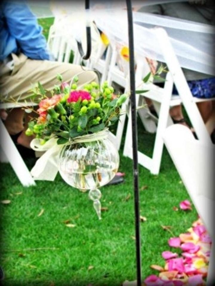 Glass Hanging Vases Ceremony Decoration Tradesy