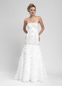 Sue Wong W3403 Vintage Art Deco Wedding Dress