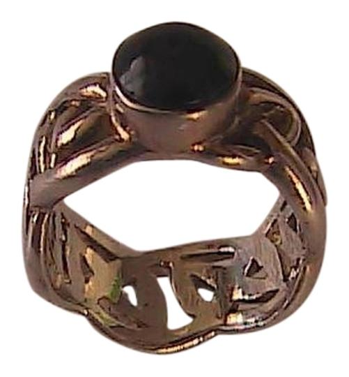 Preload https://item3.tradesy.com/images/sterling-silver-and-black-onyx-braided-size-5-ring-1655787-0-0.jpg?width=440&height=440
