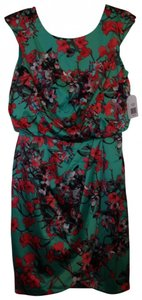 Jessica Simpson Flower Orchid Party Summer Flower Dress