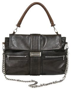 Lanvin Leather Lambskin Flap Shoulder Bag