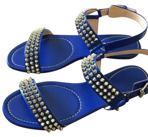 Christian Louboutin Blue Sandals