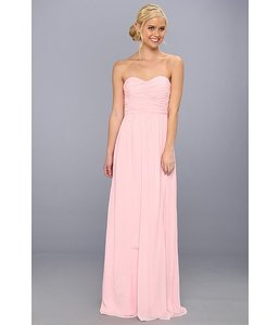 Donna Morgan Blush Pink Chiffon Emily Feminine Bridesmaid/Mob Dress Size 8 (M)