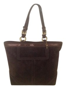 Coach Vintage Tote in EXPRESSO/GOLDTONE