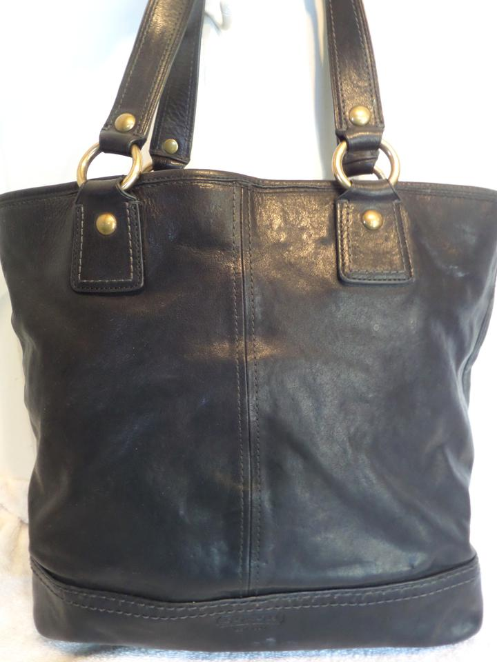 ... authentic coach 11131 gigi legacy leather tote in black.  123456789101112 999fd 487a9 c3491c6cdbef1