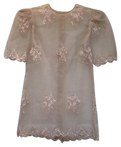 Other Lace Top Ivory
