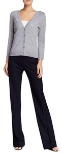 Tory Burch Corinna Trouser Pants Navy Blue