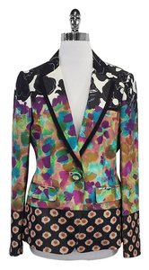 Etro Multi Color Floral Print Jacket
