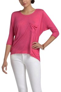 Anthropologie Pocket Top NWT Pink