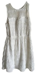 Candie's short dress White Keyhole Back on Tradesy