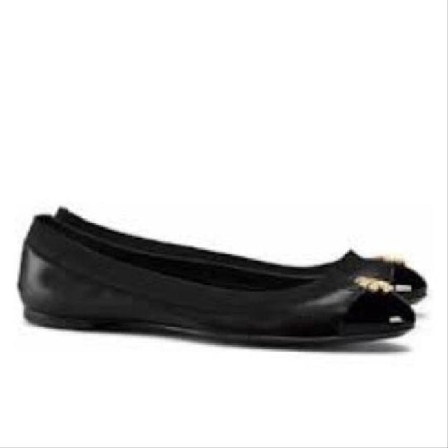 Tory Burch Black Jolie Ballet Flats Size US 10.5 Regular (M, B) Tory Burch Black Jolie Ballet Flats Size US 10.5 Regular (M, B) Image 1