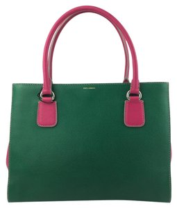 Dolce&Gabbana Purse Hot Pink And Green Tote in Multi Color