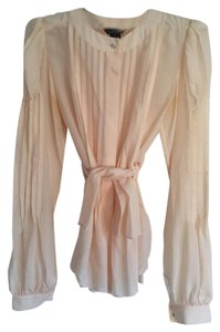Moda International Top Peach