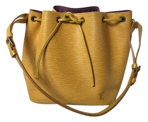 Louis Vuitton Epi Noe Yellow Epic Noe Noe Shoulder Bag