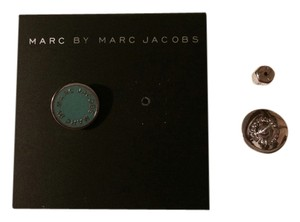 Marc by Marc Jacobs Marc by Marc Jacobs enamel logo disc stud earring