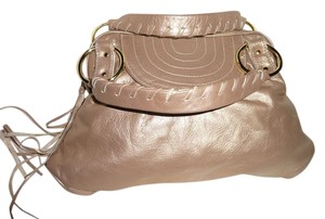 Le'Bulga Tote in Metallic Gold