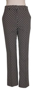 H&M Printed Stretch Casual Capri/Cropped Pants MULTI COLOR