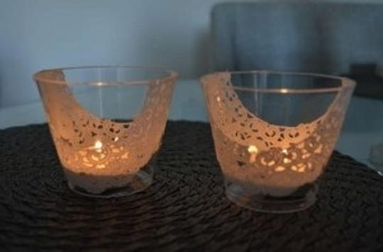 Preload https://item3.tradesy.com/images/white-tea-lights-filigree-lace-165617-0-0.jpg?width=440&height=440