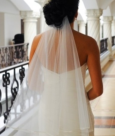 Ivory Long Layered Waltz Length Bridal Veil