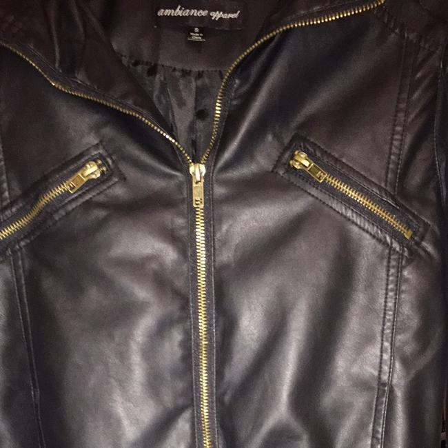 Ambiance Apparel Black Jacket