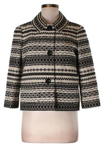 Kate Spade Tribal Black Blazer