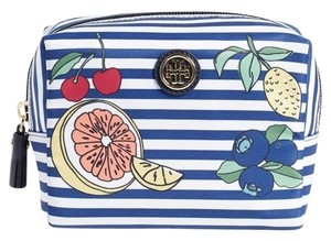 Tory Burch NWT TORY BURCH FRUIT STRIPE COSMETIC BAG
